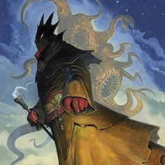 Hastur The King in Yellow. He who must not be named. . . . #hastur #kinginyellow #eldergods #eldergod #lovecraft #lovecraftian  #hplovecraft #cthulhumythos #carcosa #yellow #mythosmonsters #cosmichorror #fantasyart #gameart #imadethis #instartwork