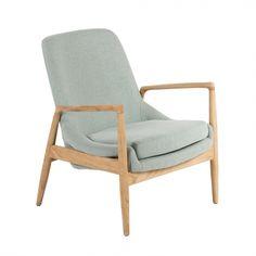 Abelone Lounge Chair - Blue | Memoky.com