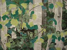 Voici l'avancée de la fresque sur la forêt inspirée d'un tableau de Marcel Odenbach. Mais je trouve qu'il manque quelque chose. peut être passer de l'encre sur le papier journal. Mais de quelle couleur? Si quelqu'un a des suggestions à me faire, je suis...