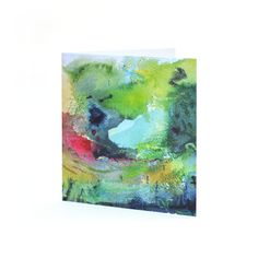 A greetings card featuring a detail of William Watson-West's painting 'Early Summer'.Reverse of card may vary depending on print run. Mixed Media Painting, Greeting Cards, Summer, Art, Art Background, Summer Time, Summer Recipes, Kunst, Art Education