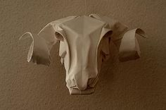 Some talents I'll just never have, origami is one of them.