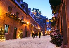 Québec (Canadá) - Destinos de Navidad infalibles