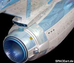 Star Trek: U. Star Trek Enterprise, Uss Enterprise Ncc 1701, Star Trek Starships, Star Trek Beyond, Star Trek Tos, Vaisseau Star Trek, Akira, Lightsaber Parts, Star Trek Models
