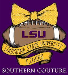 SC Classic LSU Vintage Football - Purple