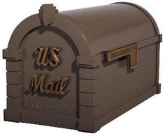 Gaines Keystone Signature Mailbox KS-20S Bronze w/ Antique Bronze Script by Gaines. $229.00. The Keystone Signature Series Mailboxes by Gaines Manufacturing Gaines manufacturing offers high quality products combined with unmistakable character with the Signature Keystone Series Mailboxes. Featuring stunning, raised sold brass US Mail letters, these decorative yet durable aluminum mailboxes add style and beauty to every curbside. Each elegant letter casts a soft shadow across...