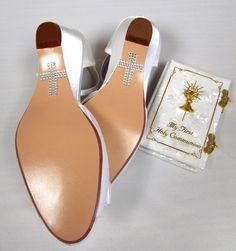 First Communion Cross Shoe Applique $7.99