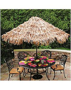 Lace Tablecloth On The Umbrella | Patio | Pinterest | Gardens And Patios