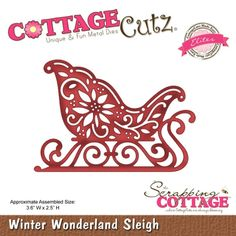 Cottage Cutz Christmas dies.