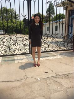 This is me.>>.. Crystal Zhang from CHINA