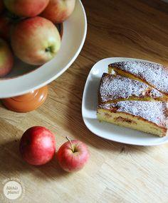 Kikkis planet: SAFTIG EPLEKAKE Fall, Autumn, Peach, Sweets, Sweet Ideas, Apple, Fruit, Cakes, Desserts