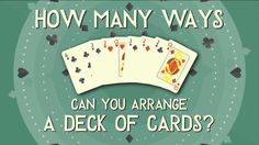 Find out how complicated it is to arrange a deck of cards - http://uciki.com/2015/05/24/find-complicated-arrange-deck-cards/ - #Educational, #Interesting
