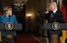 Το Κουτσαβάκι: Ο Trump έδωσε  στην Μέρκελ ένα λογαριασμό  για $ 3...