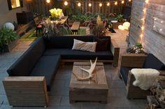 Why Teak Outdoor Garden Furniture? Outdoor Sofa, Rustic Outdoor Furniture, Resin Patio Furniture, Outdoor Garden Furniture, Outdoor Spaces, Outdoor Living, Outdoor Decor, Restauration Hardware, Restoration Hardware Outdoor