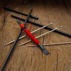 Coffee Stirrers & Sewing Needles