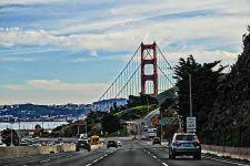 Golden Gate Bridge Ahead
