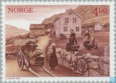 Postage Stamps - Norway - MILLENNIUM-1
