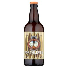 Porthleven ABV 4.8% We have selected the most spectacular hops from around the world from the new season's harvest and using only Cornish Pale Malt have created one of the palest, fruitiest, zingy and exciting strong beers you will ever taste.