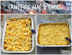 Campfire Mac & Chees