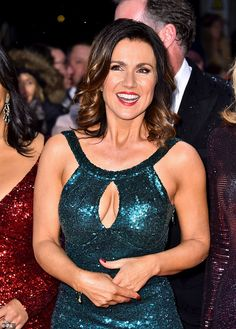 Youthful:The 48-year-old journalist looked phenomenal as she hit the red carpet outside L...
