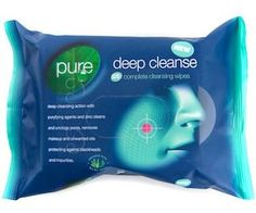 Pure Beauty Wipes - Deep Cleanse 25's
