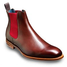 Barker Shoes - Hopper Chelsea Boot - Walnut Calf