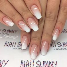 53 herausragende Braut Nägel Kunst Designs Ideen 20182019 Nail Art nail art near me Fancy Nails, Pink Nails, Cute Nails, My Nails, How To Do Nails, Best Acrylic Nails, Acrylic Nail Designs, Nail Art Designs, Neutral Nail Designs