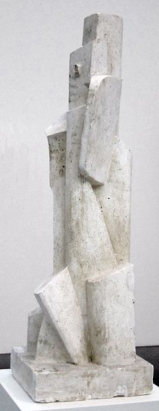 Plaster sculpture by Jacques Lipchitz, 1916, Tate Modern