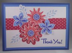 Handmade-Card-FLOWER-PATCH-Stampin-up-PATRIOTIC-Thank-You-Addl-Cards-20-s-h