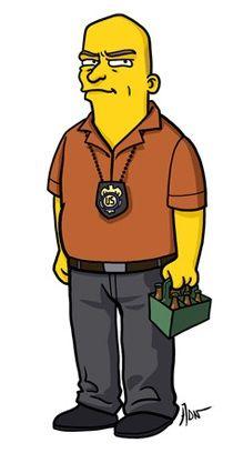 Simpsonized Breaking Bad: Hank