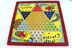 Vintage Chinese Checkers Board Game by AmericanVestige on Etsy, $18.00