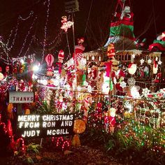 How to Make Christmas Yard Decorations With Lights. Lighted Christmas yard decorations stand out during the holidays, creating a happy holiday feel.