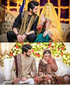 Awesome Wedding Photos of Singer Abdullah Qureshi – girl photoshoot poses Couple Wedding Dress, Pakistani Wedding Outfits, Wedding Dresses For Girls, Bridal Dresses, Bridal Poses, Bridal Photoshoot, Wedding Poses, Wedding Couples, Wedding Themes