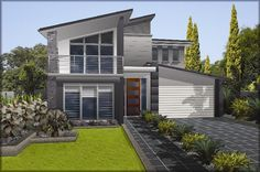 Masterton Home Designs: Villina - Trend RHS Facade. Visit www.localbuilders.com.au/builders_nsw.htm to find your ideal home design in New South Wales