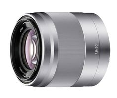 SEL50F18 50mm f/1.8 Mid-Range Prime Lens  Perfect for portraiture and a range of other subjects, the f/1.8 max aperture and optical image stabilization provide impressive image quality under low-light conditions and when capturing video.