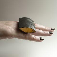 Oval Net Ring | Handmade in Britain