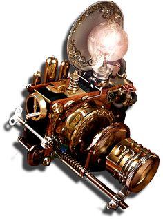 Appareil photo steampunk