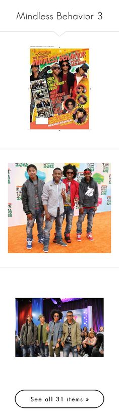 """Mindless Behavior 3"" by mindlessjayjayluvsyou143 ❤ liked on Polyvore featuring mindless behavior, mb, mindless, people, pictures, photos, ray ray, prince, boys and accessories"