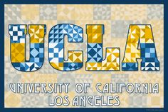 The Quilted University of California - Los Angeles. Susan Davis, owner of Olde American Antiques and American Quilt Blocks, has created a series of original quilt block designs for universities and colleges in the United States. Each of these designs is unique with a distinct color combination using the school colors and a matching border to enhance the overall pattern. These are the first quilt block designs created specifically for universities and colleges and are new to the quilting…