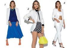 Dica de moda: Terninho Branco é a peça da vez!! Vejam: www.itsgirlss.blogspot.com.br