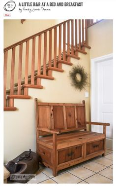 A Little Rr At A Bed And Breakfast Wooden Staircases
