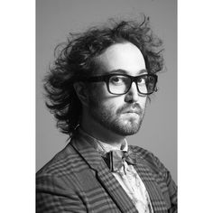 Sean Lennon for No. Magazine. Photographer: Alex Freund #bw #fashion #portrait #photography
