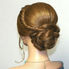 #Elegant updo, #hairstyles for long #hair, #wedding hairstyles . Watch the #video #tutorial here : Http://youtu.be/jOP7dtiCoTQ