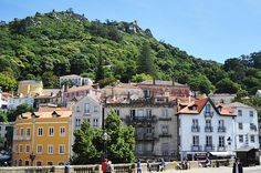 """""""Travel is fatal to prejudice, bigotry, and narrow-mindedness"""" ~Mark Twain. Sintra Portugal, Visit Portugal, Portugal Travel, Spain And Portugal, Travel Around The World, Around The Worlds, Pena Palace, Beautiful Homes, Beautiful Places"""