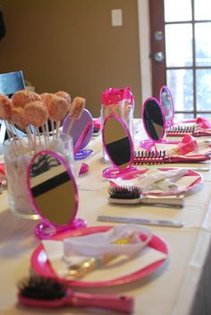 spa party ideas for 8 yr old girls - remember this for the twins via Savvy Little Women blog