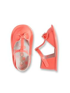 Sandalettes vernies bébé Mandarine - Bébé  Fille - Obaïbi