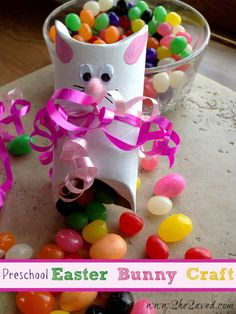 Check out these Preschool Easter Bunny Crafts for some really fun (and totally simple!) ideas to do with your kids. They're so cute and easy to make!