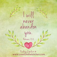 EDS OO - Never Abandon You