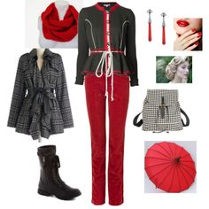 Awesome Modcloth coat and Olympia LeTan jacket in this chic Winter Is Coming contest entry Edgy Chic, Winter Is Coming, Modcloth, Olympia, Stylish Outfits, Cloths, Fashion Forward, Couture, Coat