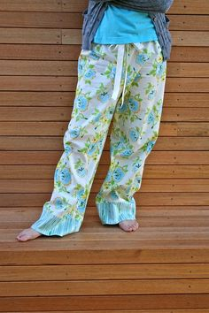 sweet dreams PJ's ~ just ordered the pattern can't wait to make them!!!