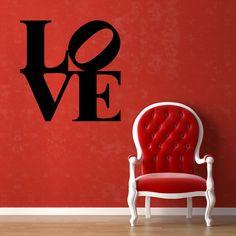 "Wallsticker ""Scritta LOVE"" su Adesiviamo http://ow.ly/IIPAj"